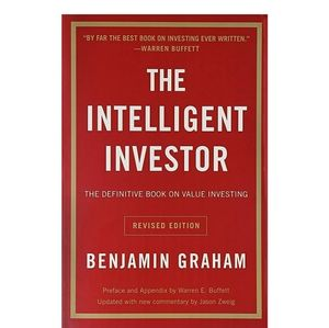 The Intelligent Investor book by Benjamin Graham